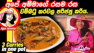 3 curries in one pot by Apé Amma