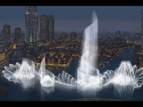 Burj Khalifa and Dubai Fountain (Altered Soundtrack)