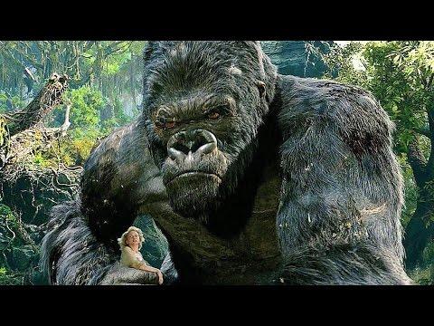 King Kong vs T-Rexes - Fight Scene - Movie CLIP [1080p 60 FPS HD]