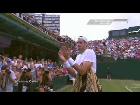 Wimbledon 2010 - Longest Tennis Match Ever - John Isner vs. Nicolas Mahu 70:68