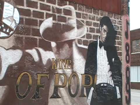 Michael Jackson Mural In Kansas City 2