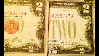 Two Dollar Bills Worth Money? Look For Red Seal 1928 Series E Star Note