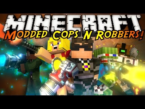 Minecraft Mini Game : MODDED COPS N ROBBERS RATCHET N CLANK