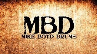 Video Mike Boyd Drums - Video Shoot -