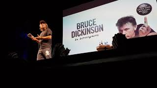 Bruce Dickinson Spoken Word Oslo Norway part 8 Lord of the rings/Harry Potter