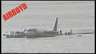 """We May End Up In The Hudson"" - US Airways 1549 Hudson Landing Audio With Transcript"