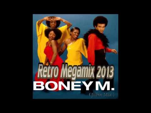 Boney M. Retro Megamix 2013