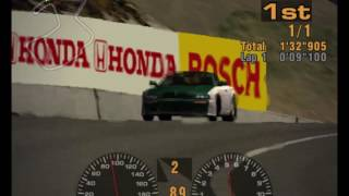 Gran Turismo 3 (US Demo) - Laguna Seca Raceway