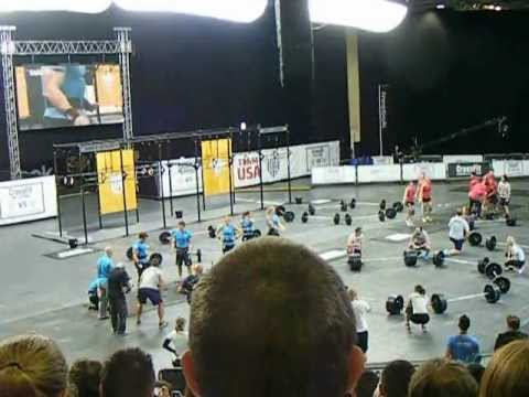 Reebok CrossFit Invitational FINAL USA WINS!!!
