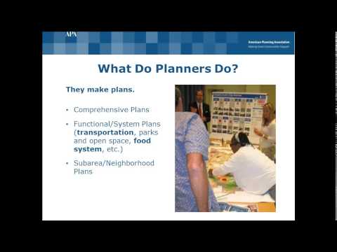 Webinar - Category A Presents...The American Planning Association (Sep 9, 2015)
