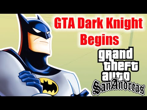 OUTROS MOD PARA GTA SA: http://www.youtube.com/playlist?list=PLJbx9OD23PlB3gCY_aumOlTffyB0e5ZTS Gameplay Comentada do mod GTA Dark Knight Begins, que adiciona várias coisas do Batman no GTA...