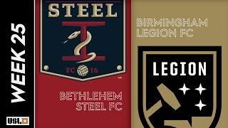Bethlehem Steel FC vs. Birmingham Legion FC August 25th, 2019