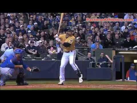 Ryan Braun Hitting Slow Motion Home Run Swing - Milwaukee Brewers MLB Video Clip