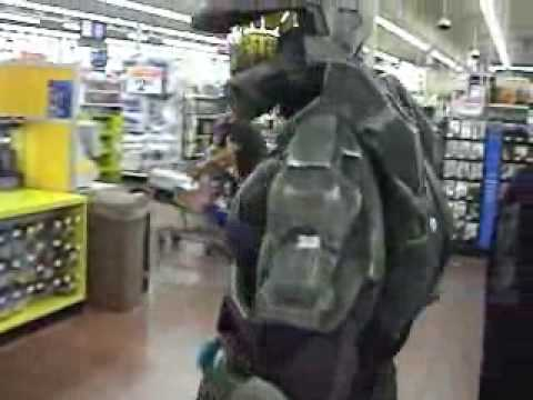 Halo s Master Chief Visits Walmart