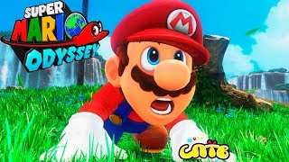 SUPER MARIO ODISSEY #1 cartoon game for kids Baby new in SPT Super Mario Odyssey