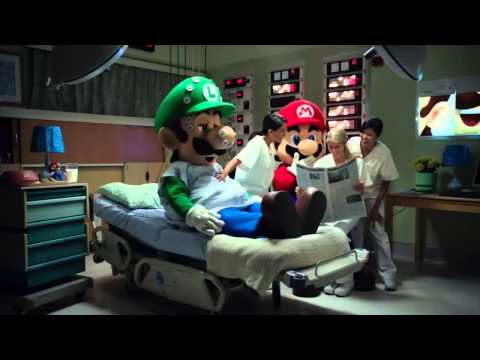 Nintendo 3DS - Mario & Luigi: Dream Team TV Bloopers