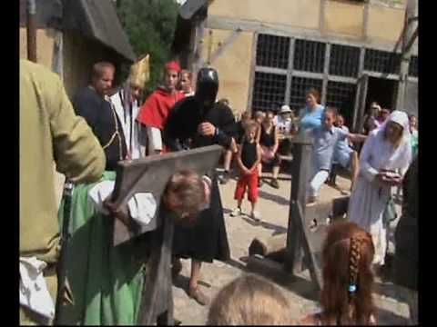 spanish inquisition pillory of a witch