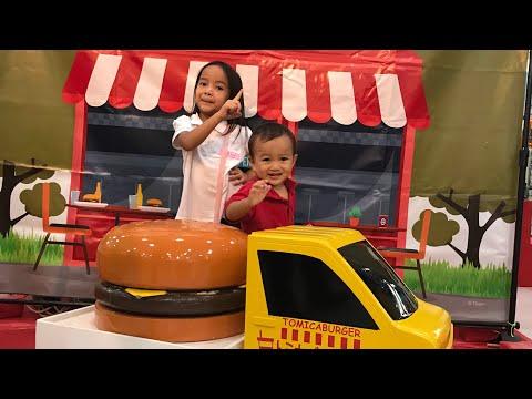 Kenzo mainan Kereta Api Gratisan di Mall   Zara memancing Mobil Mobilan