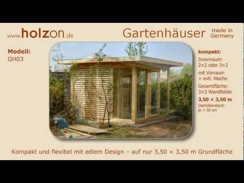 Gartenhaus Selber Bauen / Gerätehaus Modern - Holzon Design Gartenhäuser Aus Holz Glas Trespa