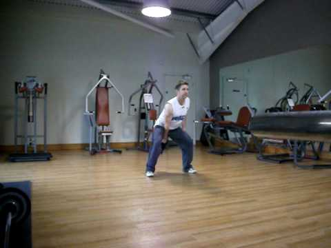 Kettlebell snatch and clean - press Image 1