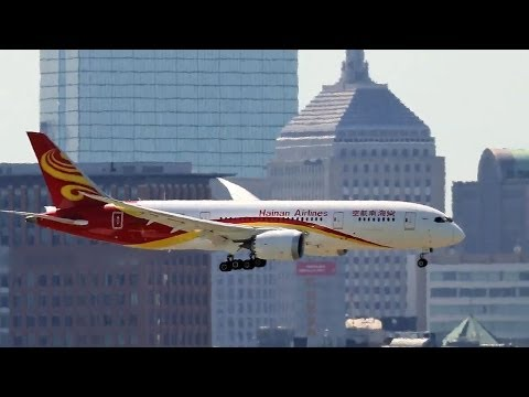 Hainan Airlines launches Boston-Beijing non-stop flight