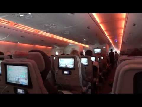 Emirates Economy Class on the A380 (Sydney to Dubai)