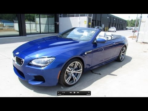 2012 BMW M6 Convertible Start Up. Exhaust. and In Depth Review