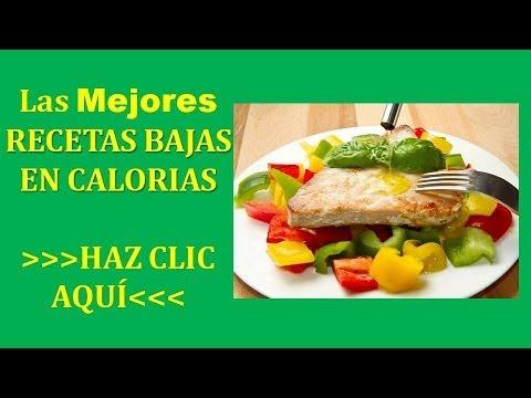 Recetas Bajas En Calorias | Recetas bajas en calorias y grasas faciles