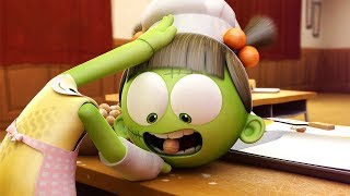 Funny Animated Cartoon   Spookiz   Zizi Spits Out Cookies For Cula   스푸키즈   Cartoon for Children