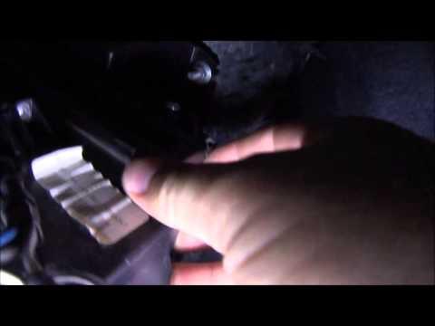 Troca filtro ar condicionado Fiat Palio