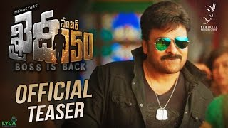Download Khaidi No 150 Official Teaser || Mega Star Chiranjeevi || V V Vinayak || DSP || LYCA Productions 3Gp Mp4