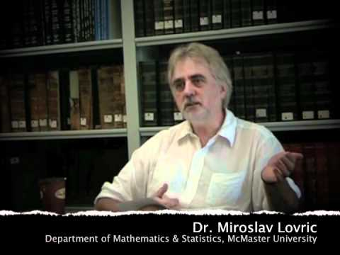 Talking About Teaching - Miroslav Lovric (#1)
