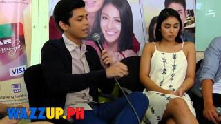 Part 9 Bloggers Conference Para Sa Hopeless Romantic James Nadine Lustre Inigo Julia Shy AJ