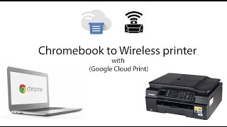 How to Connect Chromebook to Wireless printer ie. Brother MFC J470dw