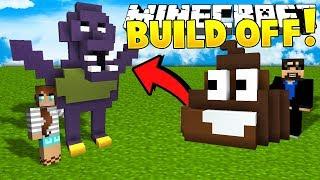 Minecraft: HUSBAND VS WIFE!! Build Battle Challenge!! - Mini-game
