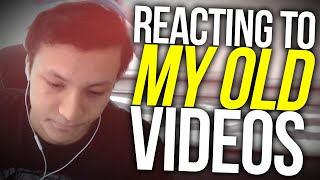 REACTING TO OLD VIDEOS! - 50k Special (Crispy Motherf*cker)