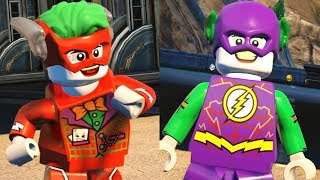 LEGO DC Super Villains - How To Make JOKER FLASH Custom Speedster