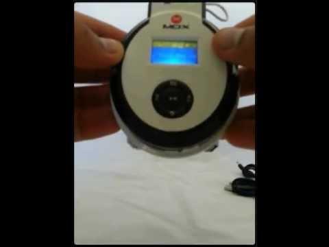 1 - Fone de ouvido sem fios com display LCD MP3 FM bateria interna 6 horas ate 32 gb