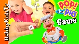 Pop the Pig Game Night with HobbyKids