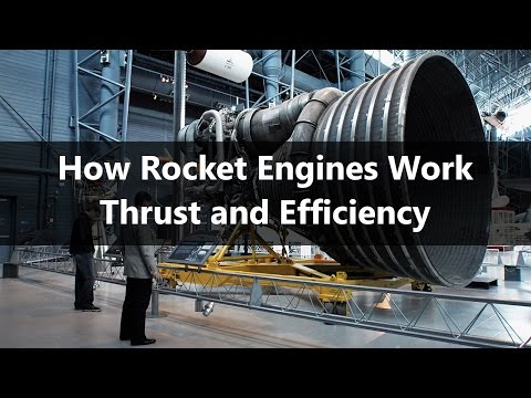 How Rocket Engines Work - Part 1 - Thrust and Efficiency