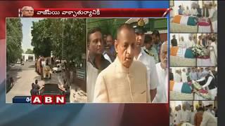 Governor Narasimhan Pays Floral Homage To Atal Bihari Vajpayee | Delhi