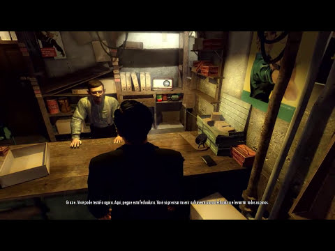 Gameplay de Mafia II - PC Gamer - Parte #2 (Legenda PT BR)