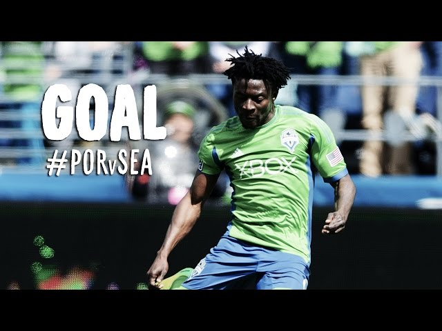 GOAL: Obafemi Martins powers through the defense and finishes | Portland Timbers vs Seattle Sounders
