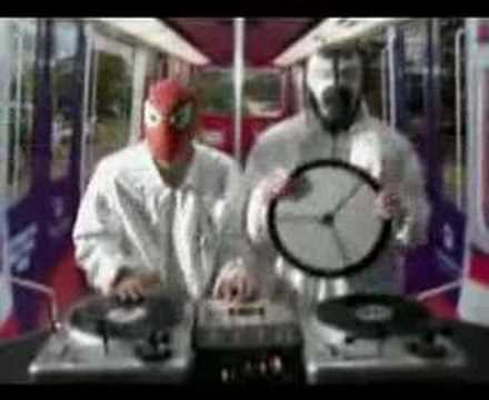 DJ Qbert Spiderman Battle