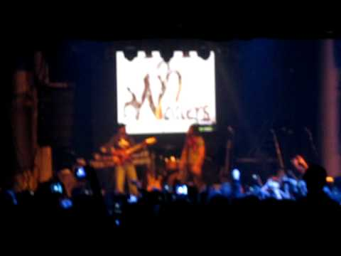 The Wailers - Redemption song Madrid 6.2.12
