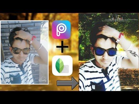 Edit your Selfie Cool & Stylish  | Picsart & Snapseed editing tutorial || Picsart letest tutorial||