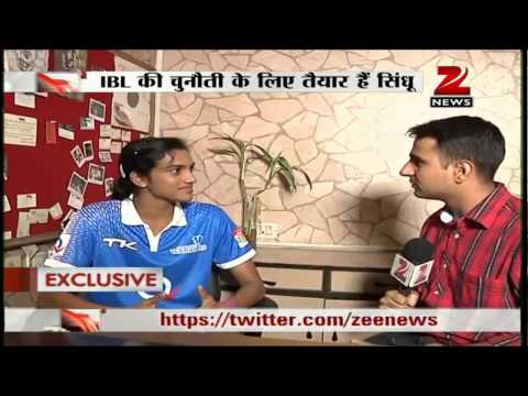 Zee News: Zee Media talks to shuttler PV Sindhu