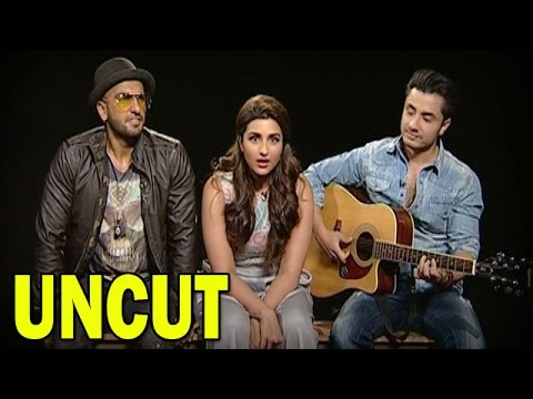 Ranveer Singh Parineeti Chopra and Ali Zafars UNCUT Interview...