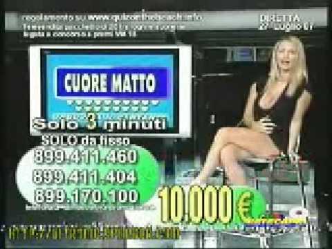 Lea di Leo presentatrice nel 2007 Video