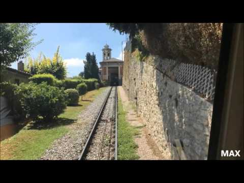Bergamo: Funicolare di San Vigilio (cab-ride)